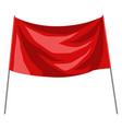flag award for sports vector image