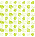 green leaves texture pattern background web theme vector image vector image