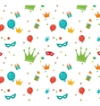 Jewish holiday Purim pattern vector image vector image