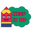 keep it up teacher reward sticker school award