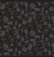 marbled rock seamless dark gray pattern vector image vector image