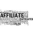 why some affiliates don t make enough money text vector image vector image