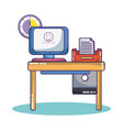 business and office vector image