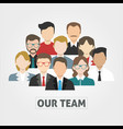 business company people job team avatar icon vector image vector image