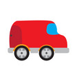 colored car toy icon vector image