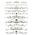 Doodles border vector image