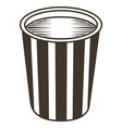isolated soda sketch vector image