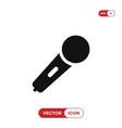 karaoke microphone icon vector image