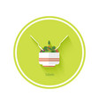 Salad icon vector image