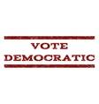 Vote Democratic Watermark Stamp