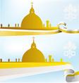 vatican background vector image