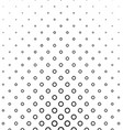 Abstract black and white ring pattern design vector image