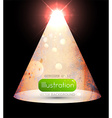 Abstract Christmas Tree Design vector image vector image