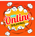 Best online shopping vector image