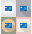 business and finance flat icons 08 vector image vector image