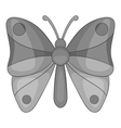 Butterfly icon cartoon style vector image vector image