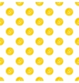 Coin pattern cartoon style vector image vector image