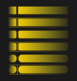 gold bundle design border concept vector image vector image