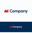 m company vector image vector image