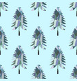 mosaic fir pattern vector image vector image