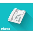Phone flat vector image