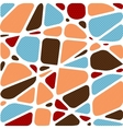 Abstract mosaic background vector image