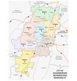 city of johannesburg metropolitan municipality vector image vector image