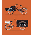 Delivery Cart Set vector image vector image