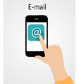 E-mail Flat Concept vector image