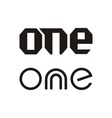 One text vector image vector image