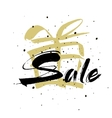 Sale Drawn lettering Sale typography vector image vector image