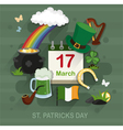 St Patricks Day concept vector image