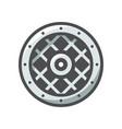 viking shield protection icon cartoon vector image vector image