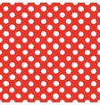 Abstract hand drawn polka dots seamless vector image