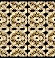 seamless floral pattern wallpaper baroque damask vector image
