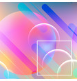abstract dynamic geometric background vector image