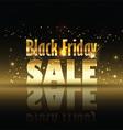 Black friday sale background 2309 vector image