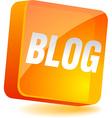 Blog Icon vector image vector image
