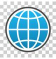 globe gradient icon vector image vector image