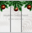 holiday s background with season wishes and vector image