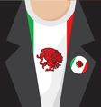 I Love Mexico T-Shirt vector image