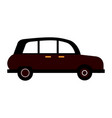 london taxi cab vector image