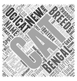 Spotted Word Cloud Concept vector image vector image