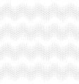 Wave seamless pattern white vector image
