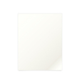 White paper document template vector image