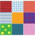 patchwork background vector image