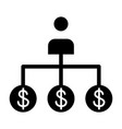 banker solid icon bank worker