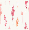beautiful seamless pattern with watercolor vector image vector image
