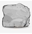 big rock stone vector image vector image