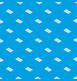 floor tiles pattern seamless blue vector image